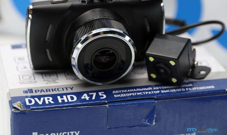 Обзор ParkCity DVR HD 475. Двухканальный видеорегистратор