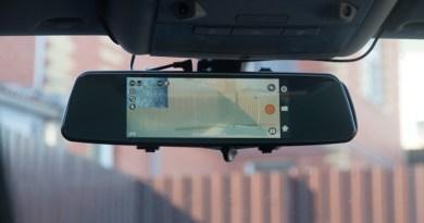 Обзор Slimtec Dual M7. Видеорегистратор зеркало с камерой заднего вида
