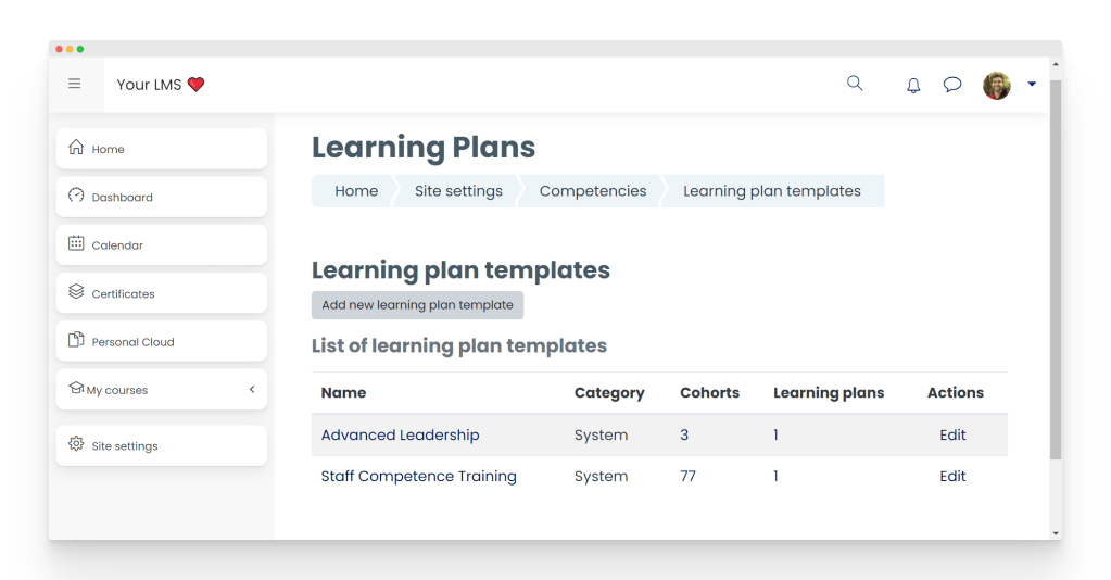pluto-lms-learning-plans
