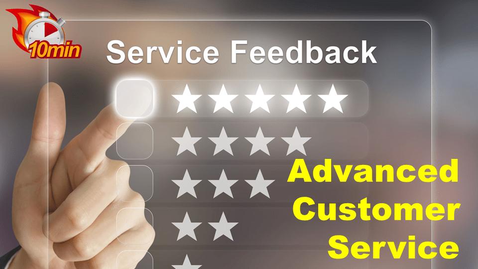 Advanced Customer Service - Pluto LMS Video Library