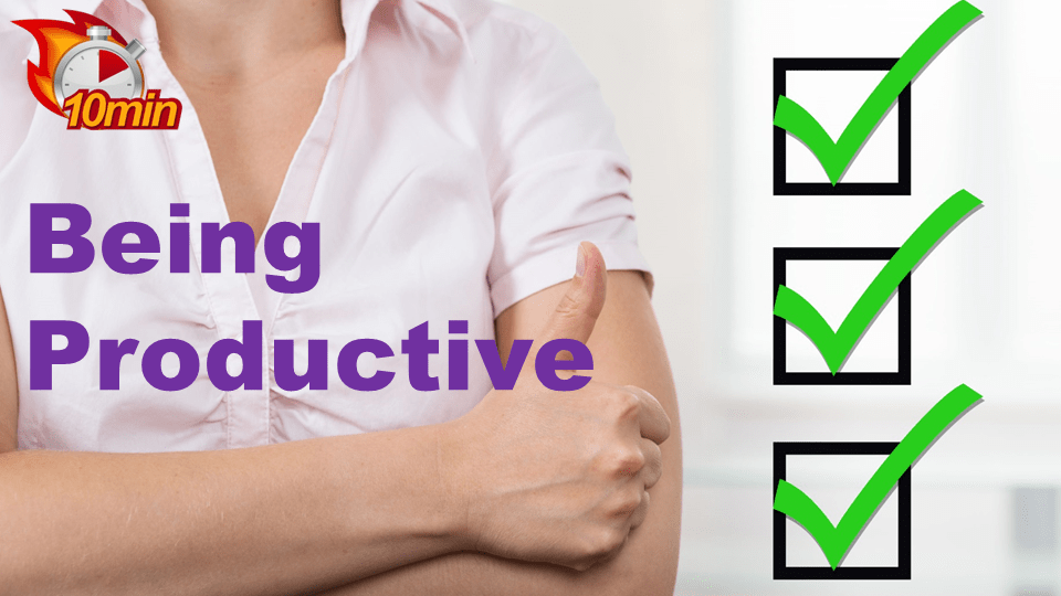 Being Productive - Pluto LMS Video Library