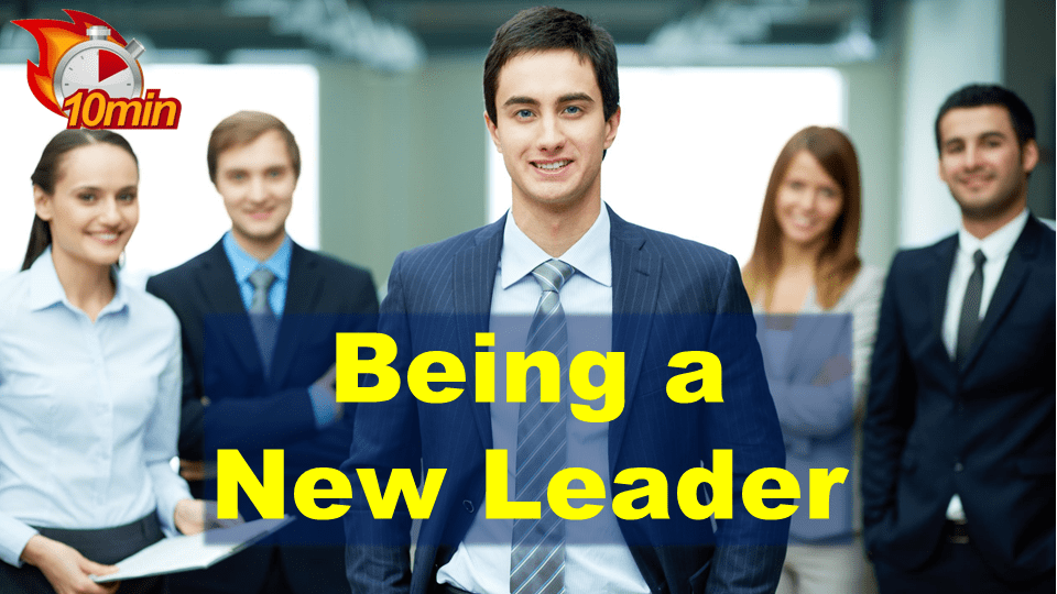 Being a New Leader - Pluto LMS Video Library