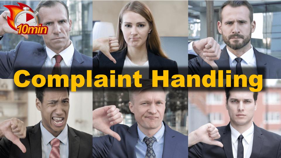 Complaint Handling - Pluto LMS Video Library