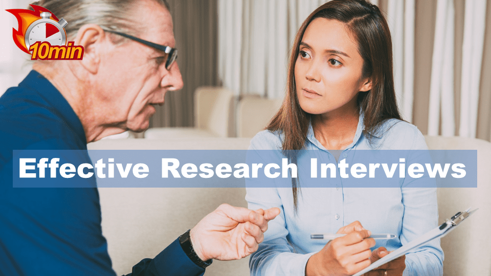 Effective Research Interviews - Pluto LMS Video Library