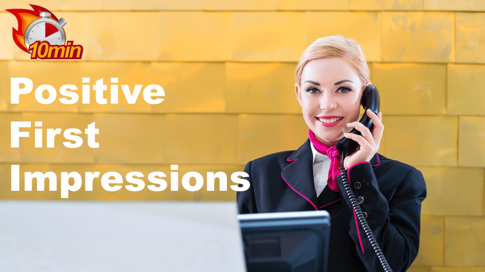 Positive First Impressions - Pluto LMS Video Library