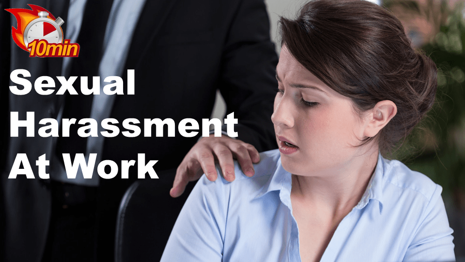 Sexual Harassment at Work - Pluto LMS Video Library
