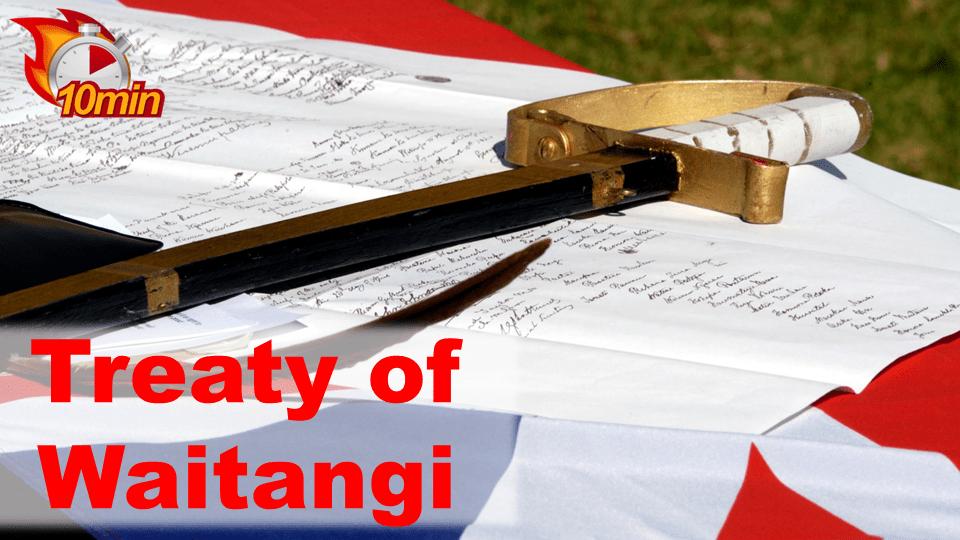 Treaty of Waitangi - Pluto LMS Video Library
