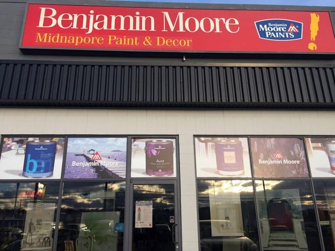 Canada New Retailer: Benjamin Moore Midnapore Paint