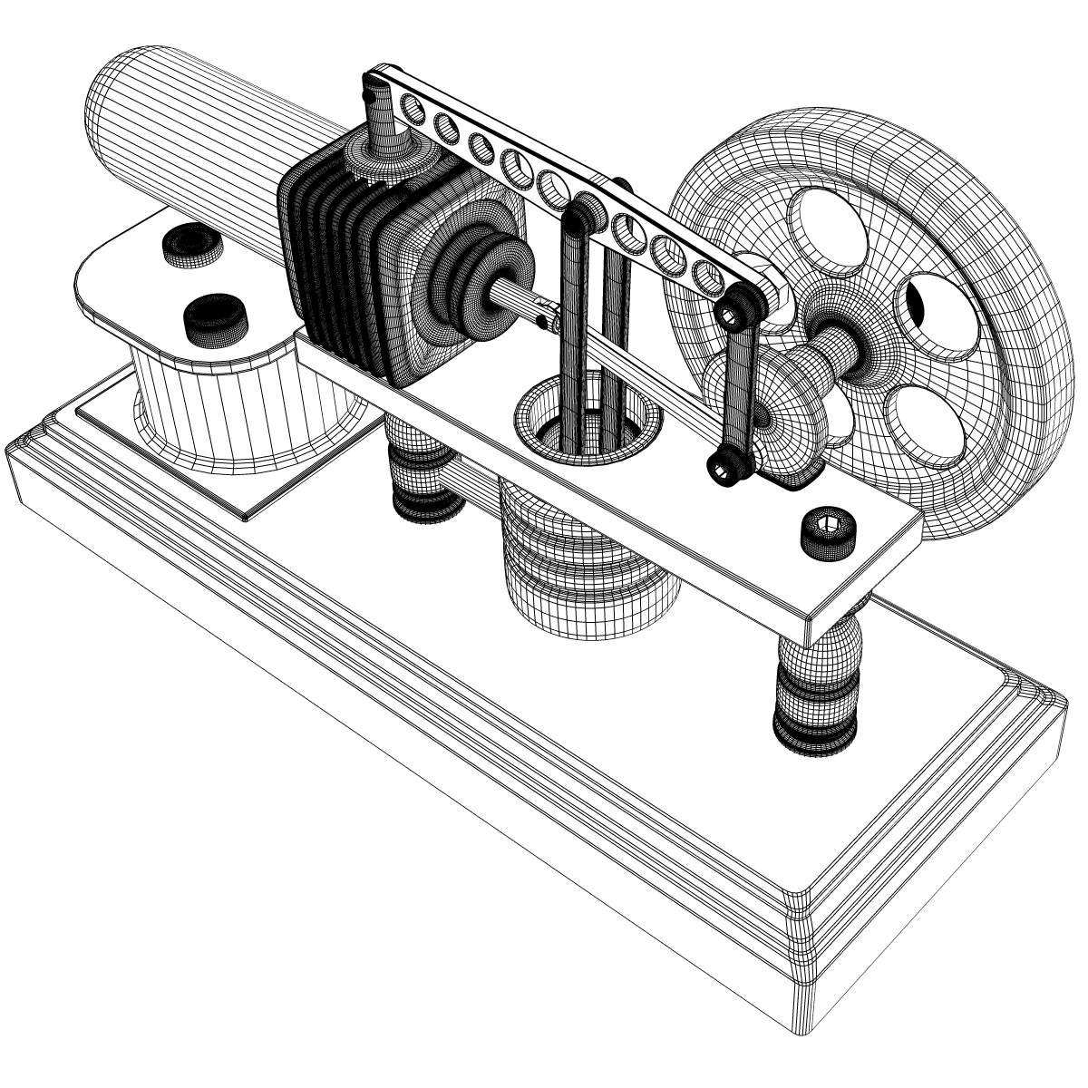 Stirling Engine Stirling Engine Stirling Engine