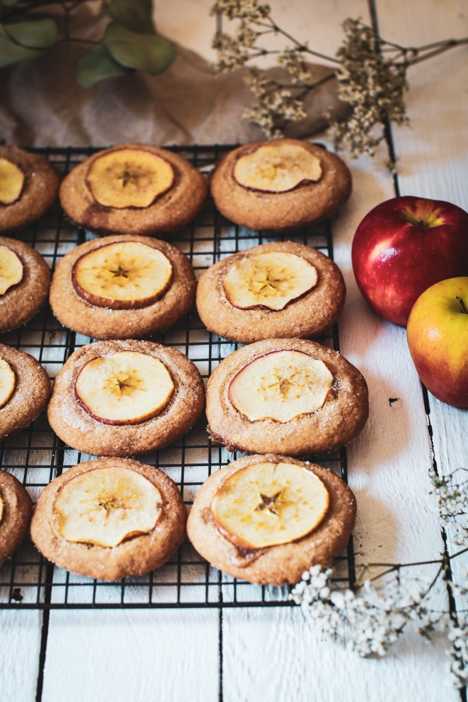 Nutmeg Ginger Apple Snaps By Chef Brianna Gallo