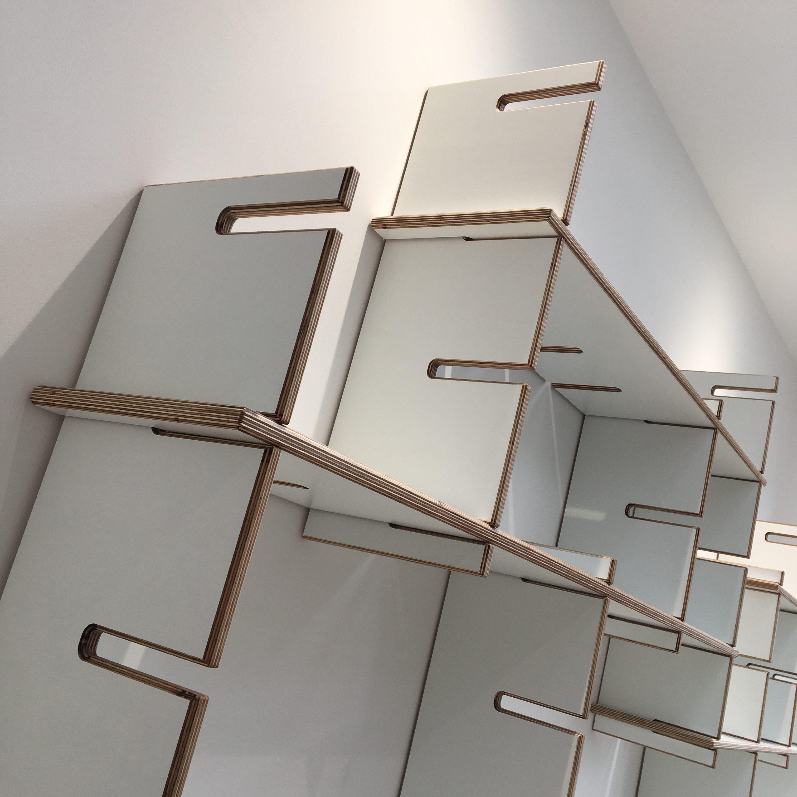 PLYable Plywood Adjustable Shelving Furniture