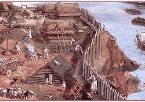 Древние поселения Руси