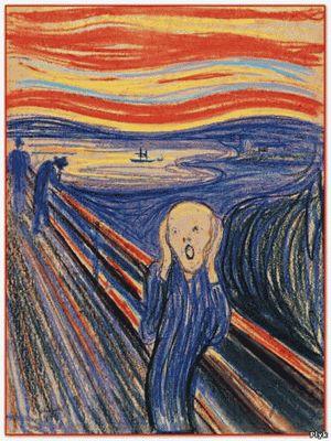 Самая мистическая картина «Крик» в мире художника Эдварда Мунка. Картина «Крик». Эдварда Мунка