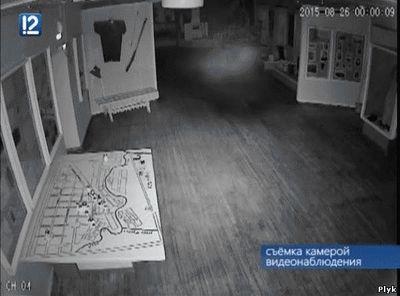 Призрак в Тарском музее
