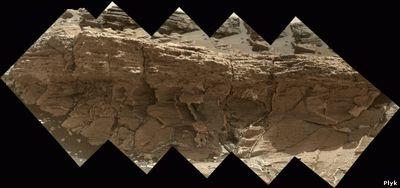 Панорама с Марса