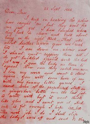 Письма Джека Потрошителя