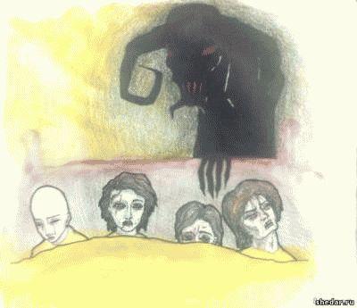 Рисунки людей с психическими отклонениями55
