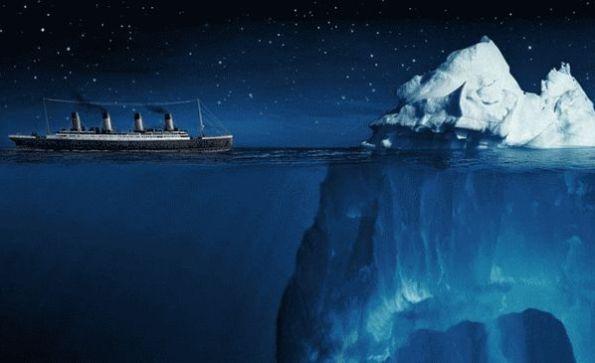 Новая версия гибели Титаника