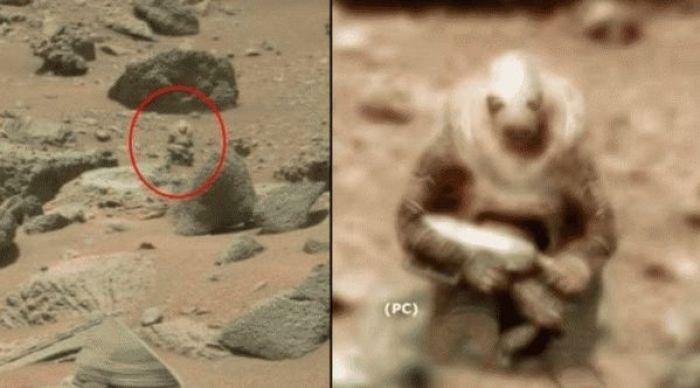 Вооруженный марсианин