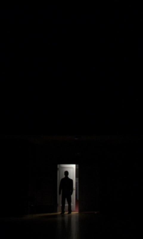 Мистическая история Силуэт в моей комнате