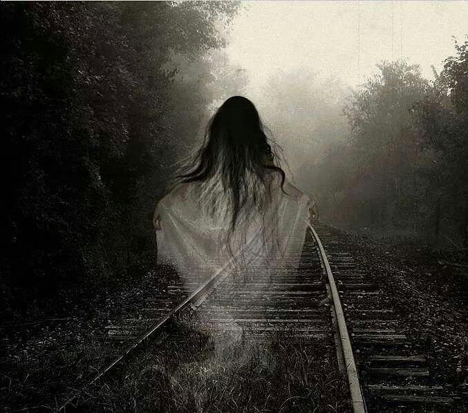 призрак девушка