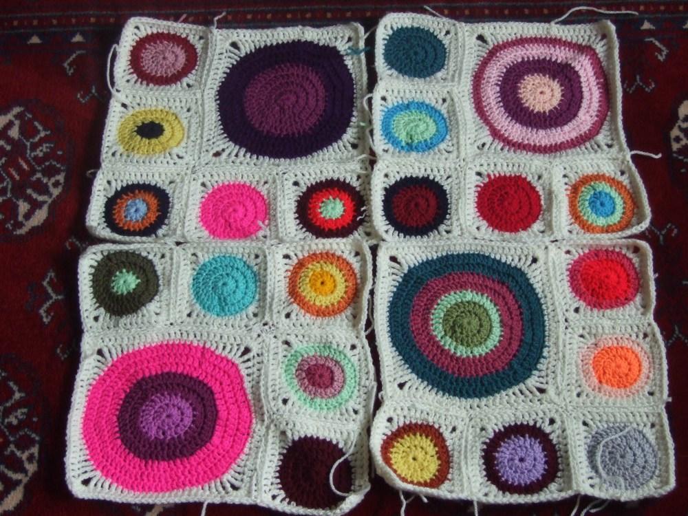Posh salad, crochet circles and a Green Man for Spring (6/6)