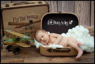 Plymouth Michigan Newborn Photos