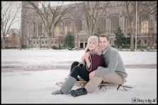 Sledding Engagement Session Photos Ann Arbor Michigan Weddind Photographer Photos by Miss Ann