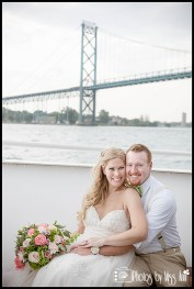 Ambassador Bridge Wedding Photos Infinity Yacht Wedding Photographer Photos by Miss Ann