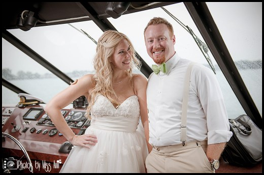 Infinity Yacht Wedding Photographer Photos by Miss Ann