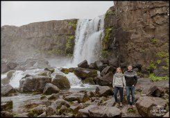 Iceland Pre Wedding Photographer Oxararfoss Waterfall