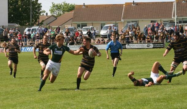 Matt Shepherd in action against Hertfordshire last season