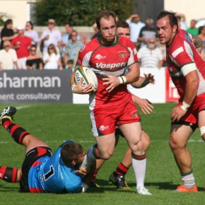 Ever-present Bedford is loving life at Plymouth Albion