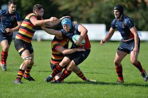Devonport Services and Saltash are both looking to cause upsets this weekend (picture by Mark Andrews)