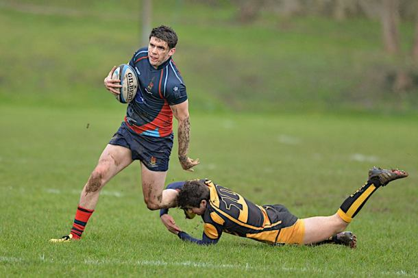 Action from Devonport Services game against Crediton (picture by Mark Andrews)