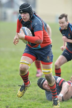 Devonport Services in action against Penryn on Saturday (picture by Mark Andrews)
