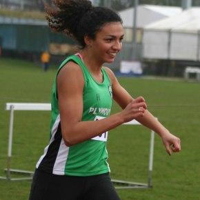 Plymouth hurdler Simson sets new PB on her debut at British Champs
