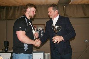 Christian judge receives award of Graham Dawe