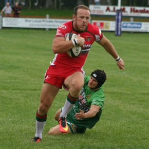 GALLERY: Crosscombe's try secures Albion narrow pre-season win at Redruth