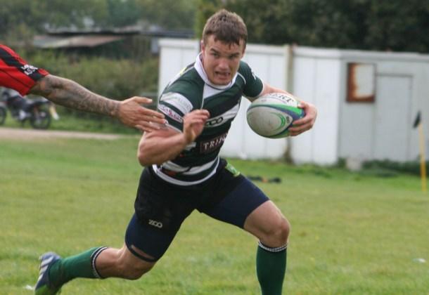 Plymouth Argaum in action against Tavistock in Cornwall/Devon League