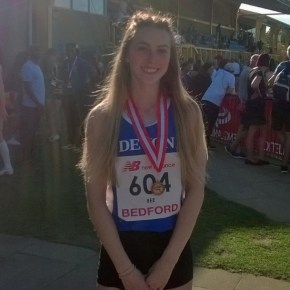 City of Plymouth's Bee wins bronze medal at English Under-17 Championships