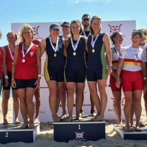 Mayflower Offshore Rowing Club enjoy Commonwealth and British success at Poole