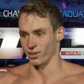 Proud narrowly misses out on a medal at his second Olympic Games