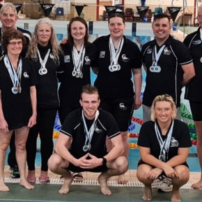 Caradon return with large medal haul from Cornwall County Masters' event