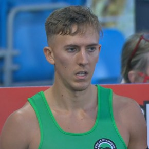 Plymouth hurdler King finishes second in his opening race of 2021