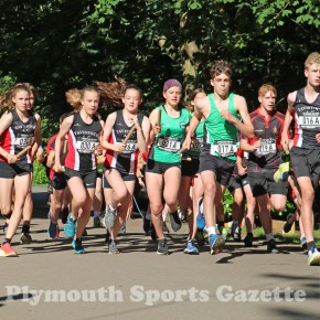 GALLERY: Teams out in force as the Tavistock Relays make a welcome return