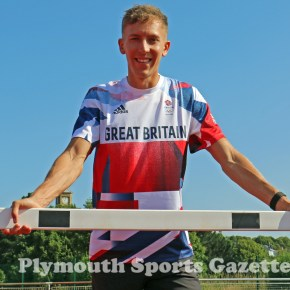 Plymouth Olympian King clocks his second fastest time at Berlin meet