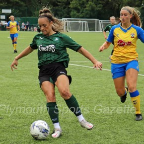 WOMEN'S FOOTBALL: Plymouth Argyle enjoy Devon derby cup win over Exeter City