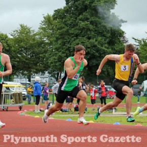 ATHLETICS ROUND-UP: Welsh medals for Edwards, while PBs go at Brickfields and Tavistock