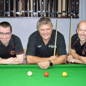 Plymouth trio prepare to return to World Billiards circuit